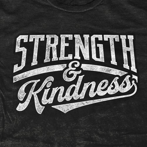 CrossFit t-shirt with the title 'Strength & Kindness'
