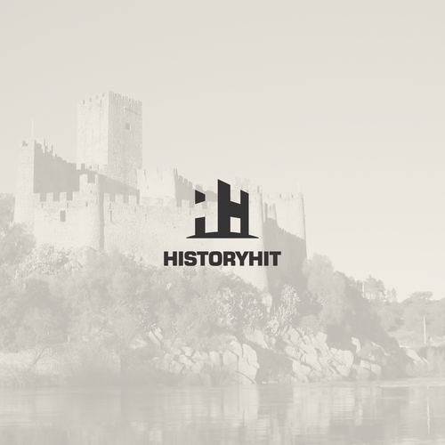 Clever design with the title 'historyhit'
