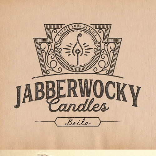 Home logo with the title 'Whimsical Vintage Logo'