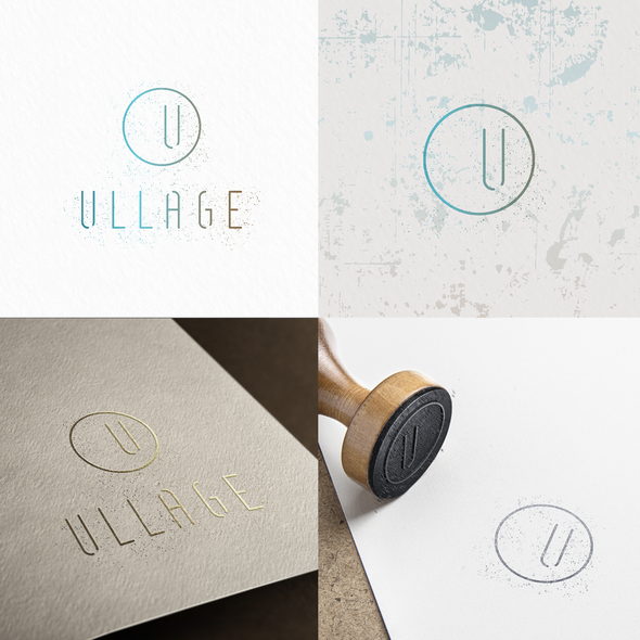 Vino design with the title 'ULLAGE'