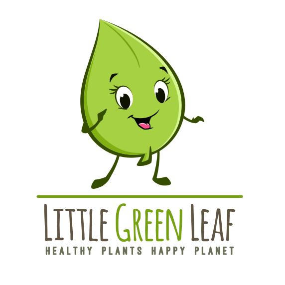 Cute design with the title 'Cute Little Leaf'