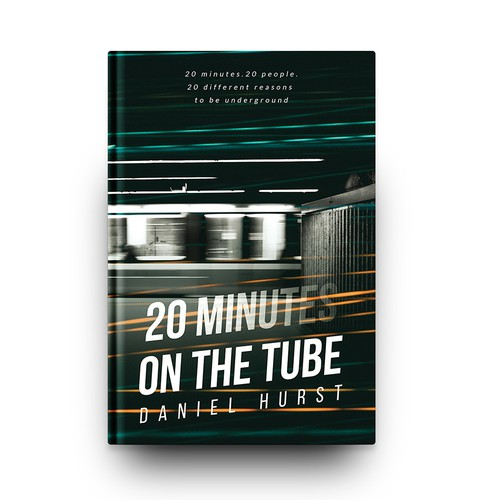 Modern book cover with the title '20 Minutes on the Tube'