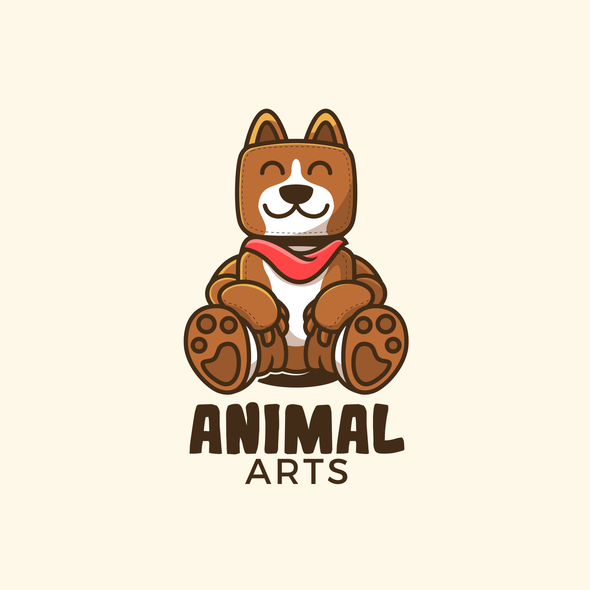 Doll design with the title 'The Animal Arts'