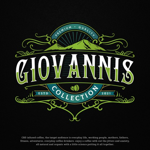 Logo with the title 'Giovanniscollection'