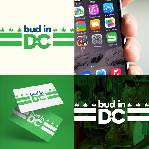 Washington DC logo with the title 'Logo concept for Bud in DC'