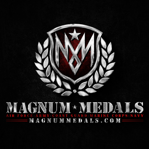 Military design with the title 'Magnum Medals'