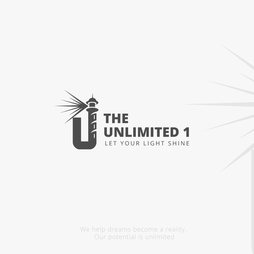 "Illumination logo with the title 'Logo for a new movement ""The Unlimited 1""'"