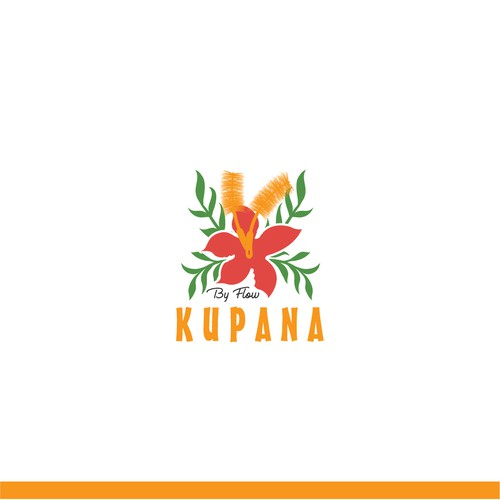 Orange and red logo with the title 'I need a fresh and colorful logo for sustainable household items'
