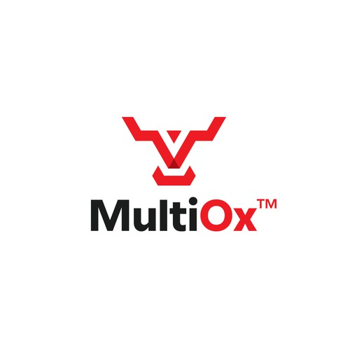 Ox design with the title 'Multi Ox Logo'