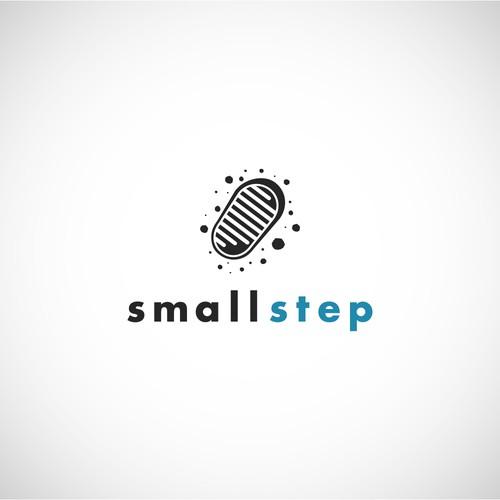 Footprint design with the title 'Moon Footprint Logo'
