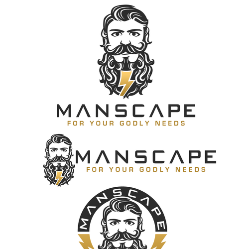 Dude logo with the title 'MAMSCAPE'