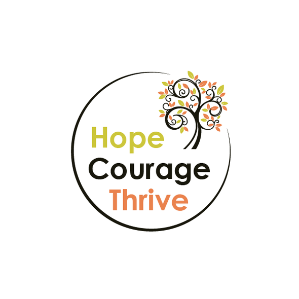 Courage logo with the title 'Health and Life style'