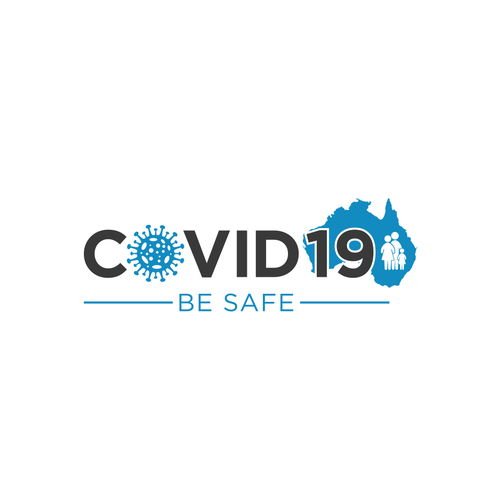 Bacteria logo with the title 'Fight against Covid19'
