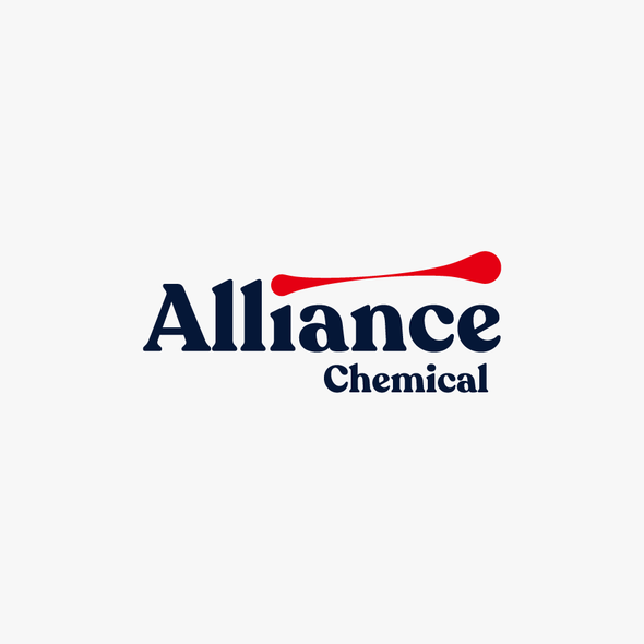 Chemistry design with the title 'Logo Proposal for Alliance Chemical'