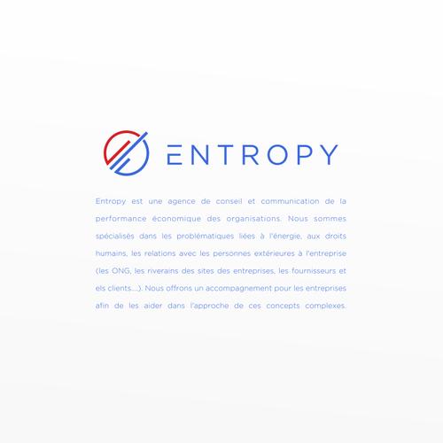 E logo with the title 'Entropy'