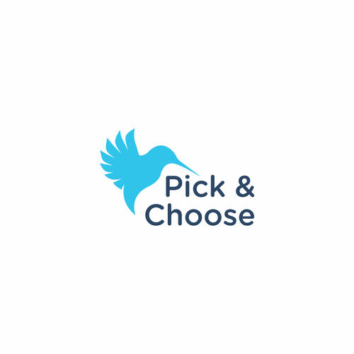 Flying goose logo with the title 'Pick & Choose'