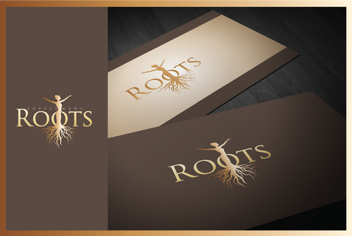 Tree root logo with the title 'Create a winning logo for a high end hair supplement'