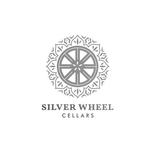 Sacred design with the title 'Silver Wheel Logo Design for a Boutique Winery'