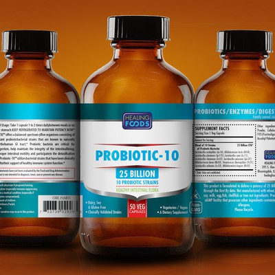 PROBIOTIC LABEL