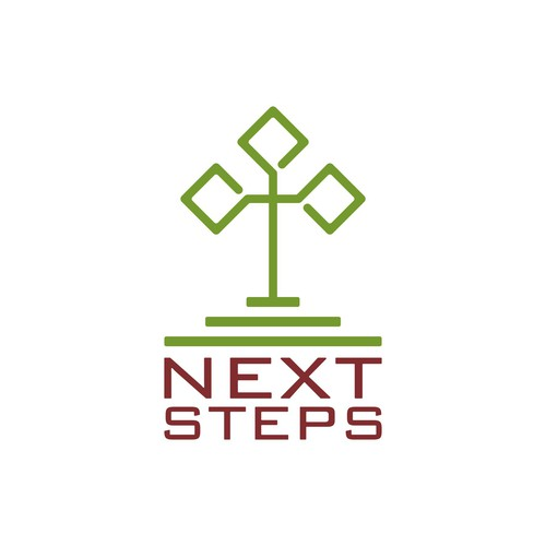 Next logo with the title 'Next Steps logo'
