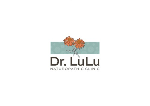 Natural medicine logo with the title 'Dr Lulu naturopathic clinic'