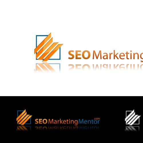 SEO logo with the title 'LOGO for SEO Marketing Mentor.com'