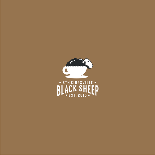 Web design brand with the title 'Black sheep'
