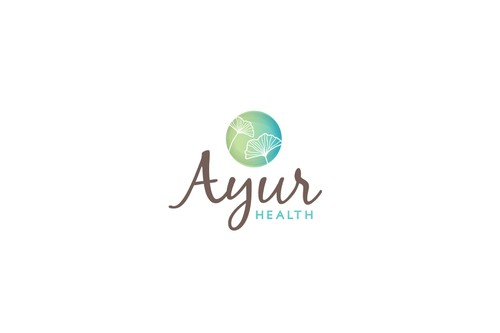 Facial logo with the title 'logo for ayurvedic consultations'