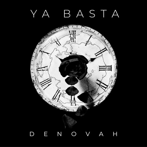 Single cover artwork with the title 'Ya Basta by DENOVAH'