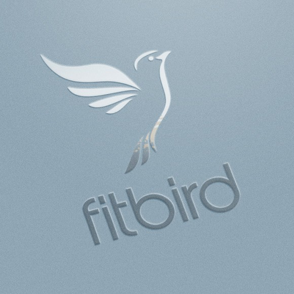 Serenity design with the title 'Bird logo'