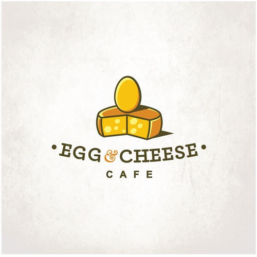Retro brand with the title 'Egg And Cheese'