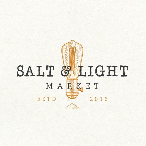 Salt design with the title 'Logo design for a mobile shop inside vintage bread truck'