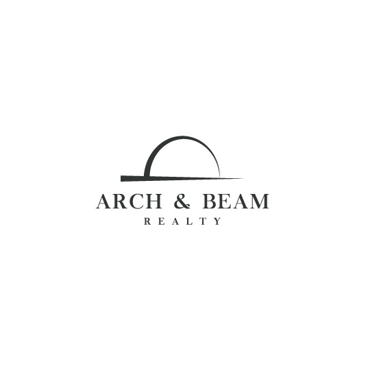 Arch design with the title 'Arch & Beam Logo'