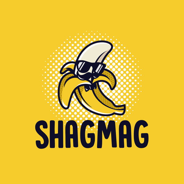 Sunglasses logo with the title 'SHAGMAG'