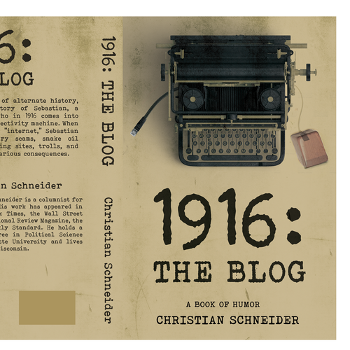 Love design with the title '1916: The Blog'