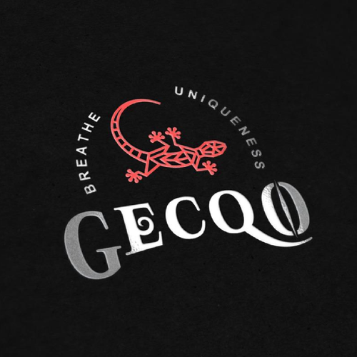 Gecko logo with the title 'Gecko Logo'
