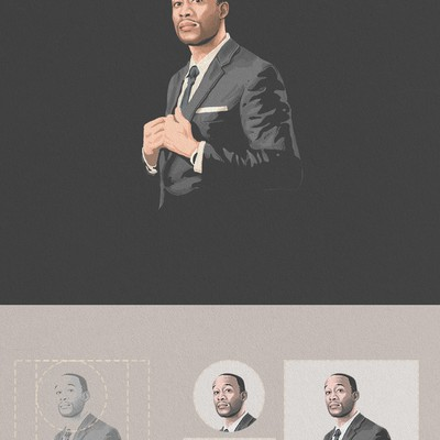 Business profile Illustraion