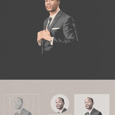 Business profile Illustraion