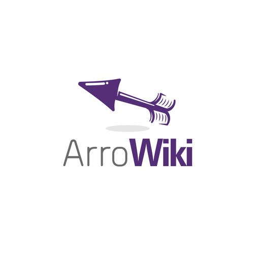 Archery logo with the title 'Arrow Wiki'