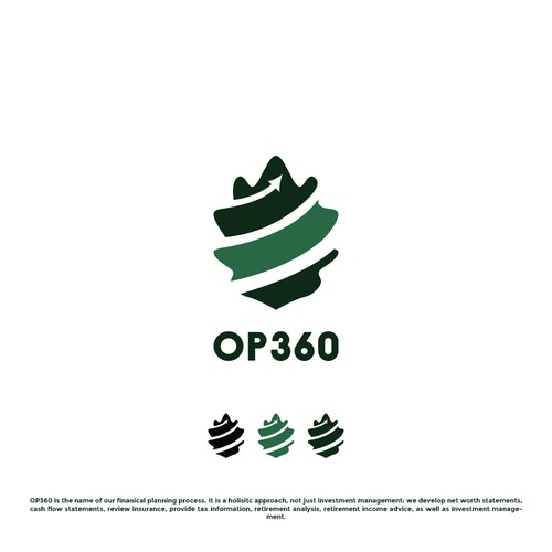 Oak leaf logo with the title 'OP360'
