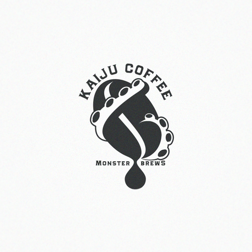 Mythology logo with the title 'Coffee brand'