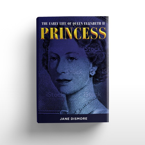 Princess book cover with the title 'Book cover for major new royal biography'