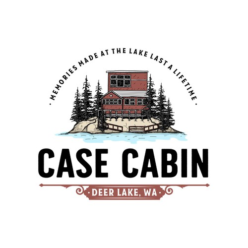 Cabin logo with the title 'Case Cabin'