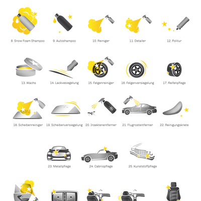 45 Autocosmetics Icons