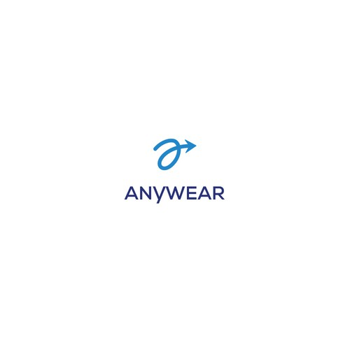Luggage logo with the title 'Concept for ANYWEAR, a travel gear and accessories company'