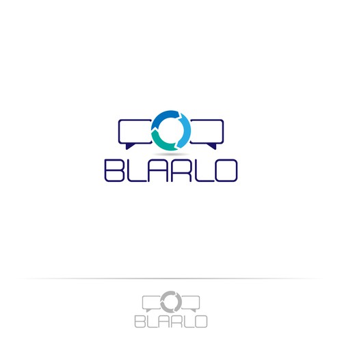 Translation design with the title 'BLARLO'