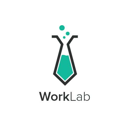 Desk logo with the title 'WorkLab'