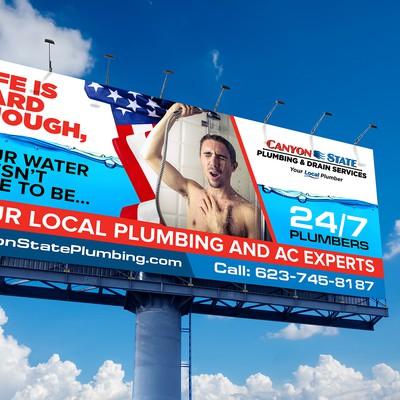 HVAC billboard