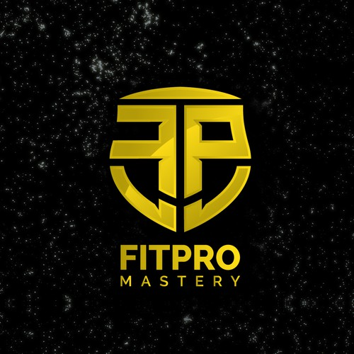 Fitness brand with the title 'Logo for Fitpro Mastery'