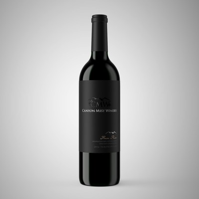 Modern Premium Wine Label Design